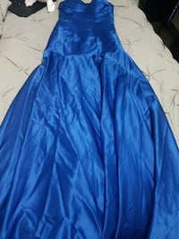 Blue prom or graduation dress  Edmonton, T5B 3M2
