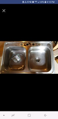 Double Bowl Sink and Faucet Dallastown, 17313