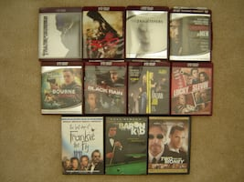 DVDs - 11 DVD Movies
