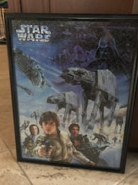 Star war pictures smaller one are $10 other is $15