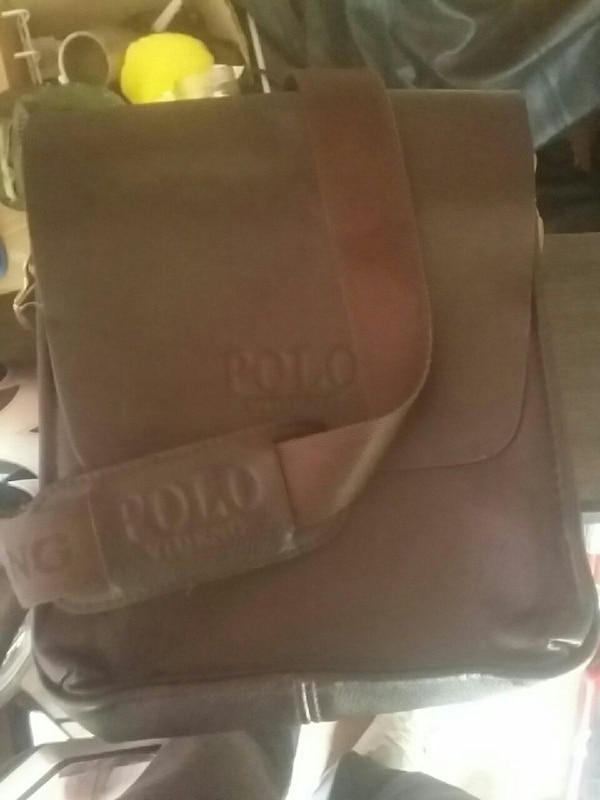 2e89d92127 Used brown leather Polo crossbody bag for sale in Abbotsford - letgo