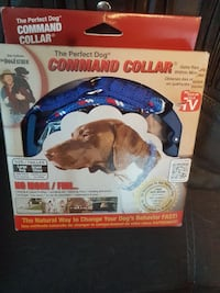 blue Command collar pack