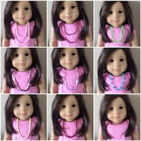Set of 10 necklaces for American girl doll  Toronto, M9M 0A4