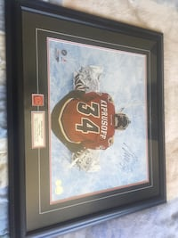 Signed miikka kiprusoff photo Colwood, V9C 2B7