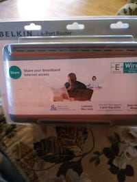 BELKIN WIRED ROUTER 4 PORT NEW