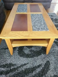 Solid oak 3 peice coffee and end tables Hamilton, L8V 4A5
