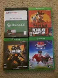 Xbox One Games North Charleston, 29406
