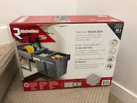 Unopened brand new waste bins $20 (price firm ) Calgary, T3K 0Y6