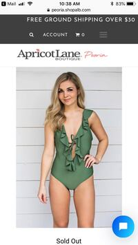 Apricot Lane swimsuit brand new Peoria