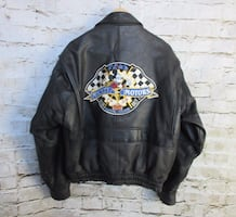 Mickey Mouse/Disney Leather bomber Jacket $80