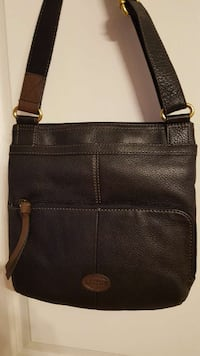 """Fossil"" brand genuine leather cross-body purse Washington"