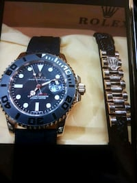 Yacht master watch and bracelet new in box 699$ Toronto, M2R 2C1