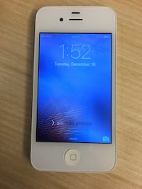 iPhone 4S White Unlocked 16GB Great Condition 535 km