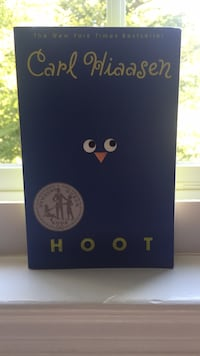 """HOOT"" book by carl hiaasen Burke, 22015"