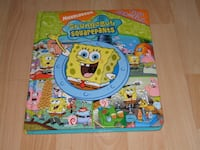 "Spongebob Squarepants First Look And Find Book (Large 12"" x 10"" Size) Surrey"