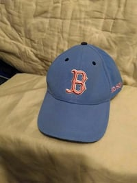 blue and pink Boston Red Sox fitted cap Barre, 05641