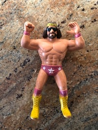 Macho Man Randy Savage Wwf Ljn Loose Action Figure 1986