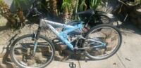 blue and black full-suspension bike Anaheim, 92805