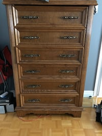 Classical wood Bedroom dresser and night stand Vaughan, L4L 8S4