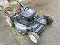 black and gray push mower Hagerstown