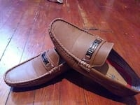 pair of brown leather loafers Baltimore, 21213