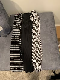 Size large maternity clothes lot