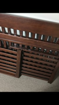 brown wooden bed headboard and footboard Baton Rouge, 70816