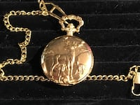 Gold tone deer pocket watch Glen Burnie, 21061
