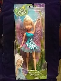 """Disney Fairies"" -Sparkle Party Periwinkle-doll 2391 mi"