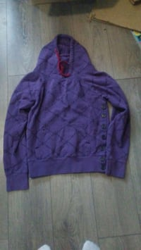 Dc sweater size large buttons up on sides