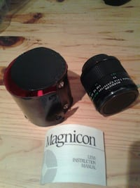 black Magnicon camera lens Toronto, M6J 2K3