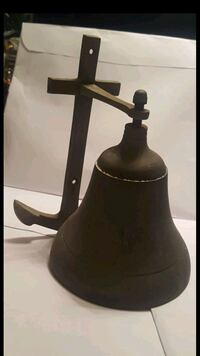 ANTIQUE/VINTAGE NAUTICAL SHIP'S BELL AWESOME SOUND Tamarac