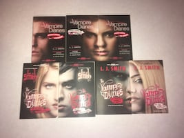 Vampire diaries book collection