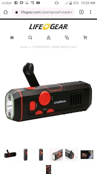 Life Gear Crank flashlight and crank charger Vancouver, 98664