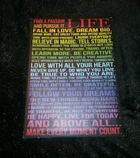 Wall Hanging, Life Quotes