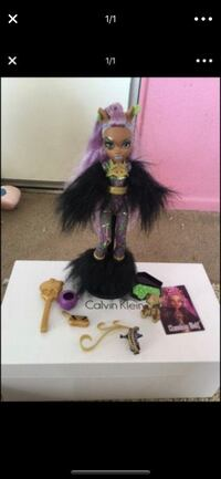 purple haired Bratz character doll