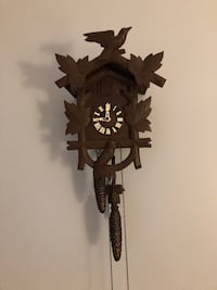Vintage Cuckoo Clock, Works Southington, 06489