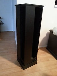 PEDESTAL CD/DVD/TOWER HOLDER $100 (OBO) Ajax