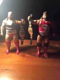 WWE Elite Earthquake and Typhoon with Tag Team Titles Bristol, 24202
