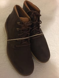 pair of black suede lace-up shoes Camarillo, 93010