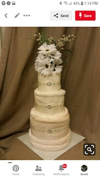 Bridal and Baby shower Diaper and Towel Cakes