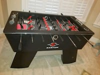 black and red foosball table Tampa, 33625