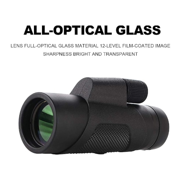 New Monocular Telescope, 10X42 High-Definition Water-Proof,Fog-Proof and  Shock-Proof Monocular Telescope with Smartphone Adapter