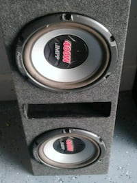 black and gray Pioneer Audio subwoofer Kissimmee, 34743