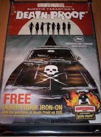 Death Proof Poster/Banner (double sided vinyl) Brampton, L6Y 5B8