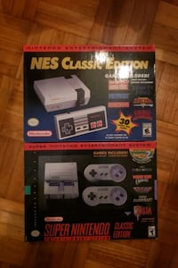 Nintendo nes and snes mini Toronto, M6H 3N5