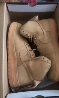 Wheat Nike Air Force size 12 Fairfax, 22030