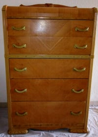Tall Curved oak chesterdrawers Grand Junction, 81501