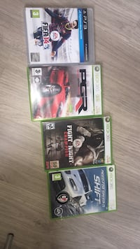 4 spill for ps3 og Xbox 360 Oslo, 0673