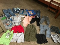 toddler's assorted clothes Riverside, 92505